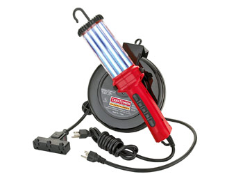 38% off Craftsman Cord Reel w/ 26-Watt Fluorescent Work Light