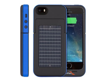$35 EnerPlex SFI-2000-BL Surfr Battery & Solar iPhone 5 Case