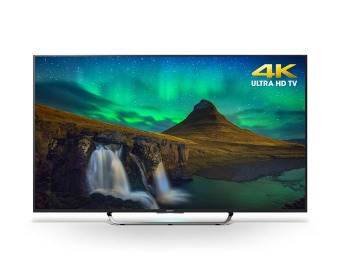 "$700 off Sony XBR55X850C 55"" 4K 3D Smart LED TV + $500 Gift Card"