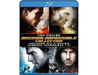 $23 off Mission: Impossible 4-Film Collection (Blu-ray)
