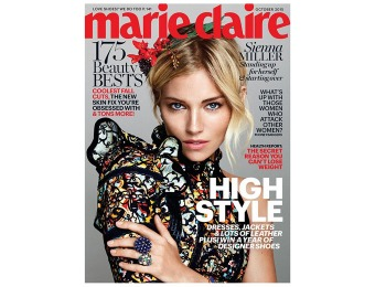 $37 off Marie Claire Magazine Subscription, 12 Issues / $4.99