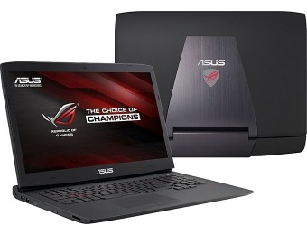 "$442 off Asus Republic of Gamers 17.3"" G-Sync Gaming Laptop"