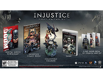 35% off Injustice: Gods Among Us Collector's Edition PS3