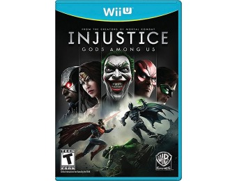 42% off Injustice: Gods Among Us (Nintendo Wii U)