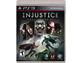 42% off Injustice: Gods Among Us (PS3)