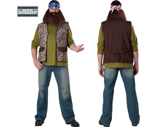 94% off Duck Dynasty: Willie Adult Costume