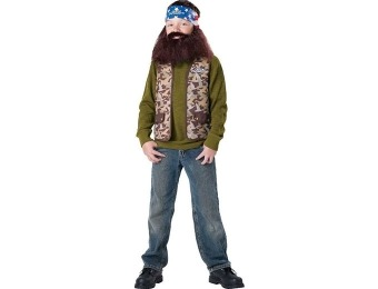 90% off Duck Dynasty: Willie Child Costume