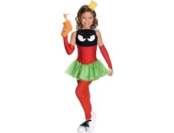 91% off Marvin the Martian Girl Child Costume