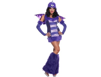 92% off Sexy One Eyed One Horn Flying Purple People Eater Costume