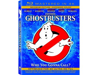 67% off Ghostbusters (Mastered in 4K) Blu-ray