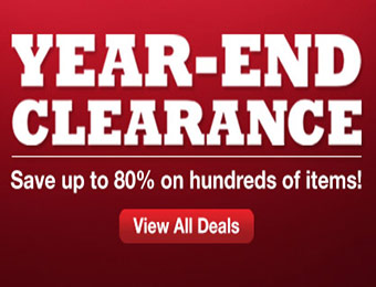 Clearance - Save up to 80% on hundreds of items
