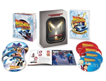 $50 off Back to the Future Complete Adventures Limited Edition Blu-ray