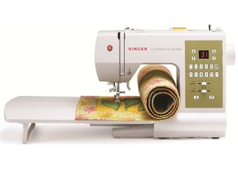 $341 off Singer Computerized Sewing & Quilting Machine Refurb