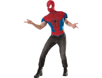 83% off The Amazing Spider Man 2 Adult Muscle Shirt Costume Kit