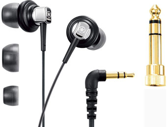 75% off Yamaha YER-500BL In-Ear Headphones