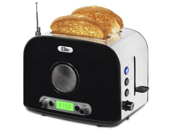$75 off Elite ERT-6067 2-Slice Stainless Steel Radio Toaster