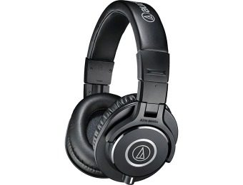 $72 off Audio-Technica ATH-M40x Professional Studio Headphones