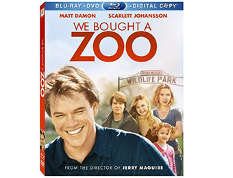 75% off We Bought a Zoo (Blu-ray + DVD + Digital Copy)