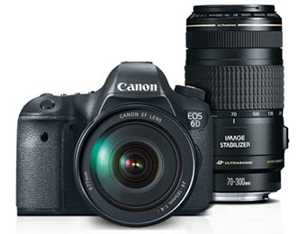 Up to $500 off Canon EOS Digital Cameras