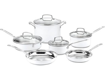$449 off Cuisinart CSMW-10 Chef's Classic 10-Pc Cookware Set