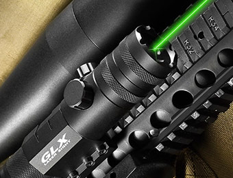 62% off Barska GLX 5mW Green Laser Sight for Firearms