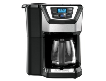 $70 off Black & Decker CM5000B 12-Cup Mill and Brew Coffeemaker
