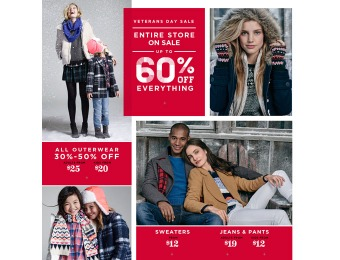 Old Navy Entire Store Sale - Up to 60% off Everything