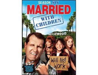 75% off Married... with Children: Season 6 DVD