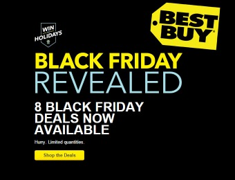 Best Buy Black Friday DoorBuster Deals - 8 Deals Available Now