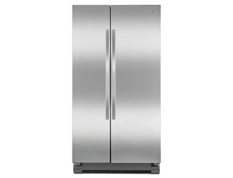 $580 off Kenmore 25 cu. ft. Side-by-Side Stainless Steel Refrigerator
