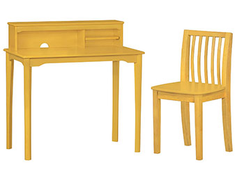 73% off Solutions by Kids R Us Desk & Chair (Natural)