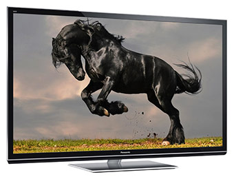 "$800 off Panasonic Viera 50"" 1080p Smart 3D Plasma HDTV TC-P50GT50"