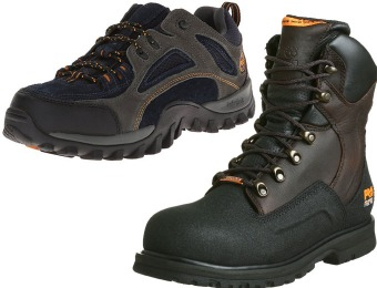 45% off Timberland Pro Work & Safety Boots, 14 styles from $55