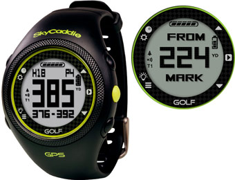 $50 off SkyCaddie Golf GPS Watch, 2 Styles