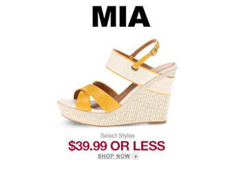 MIA Women's Shoes & Sandals for $40 or Less, Over 150 Styles