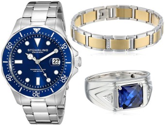 Up to 70% off Men's Jewelry and Watches Gifts, 83 items from $15