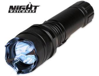 33% off Night Watchman 2 Million Volt Police Stun Gun Flashlight