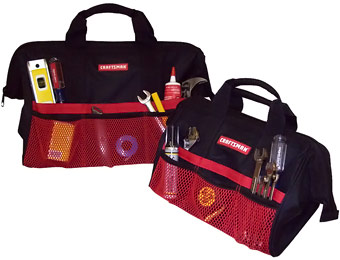 50% off Craftsman 13 in. & 18 in. Tool Bag Combo