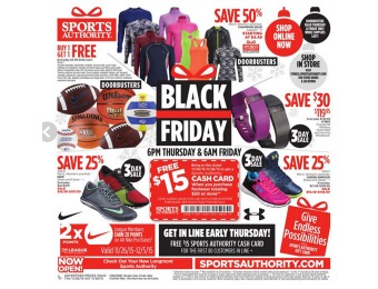 View the Sports Authority Black Friday Deals Now