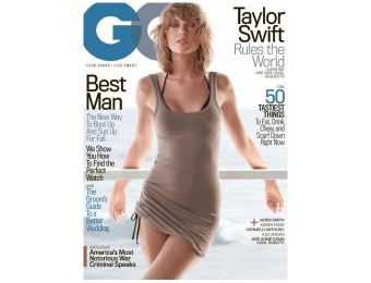 90% off GQ Magazine Subscription, $4.95 / 12 Issues