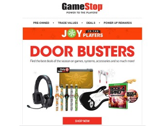 GameStop Black Friday Doobuster Deals