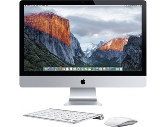 "$345 off Apple 27"" iMac All-in-One With Retina 5k Display - MF886LL/A"
