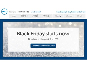 Dell Black Friday Sale - Deals Are Available Now