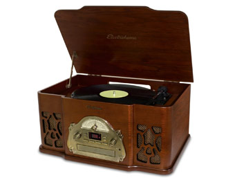 44% off Electrohome EANOS501 Retro Turntable Record Player
