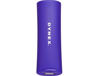 $4 off Dynex DX-2601 Portable Charger - Blue