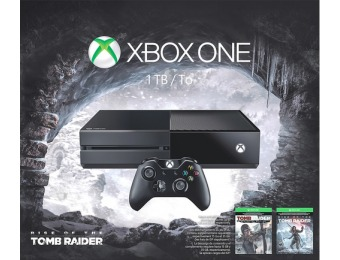 13% off Microsoft Xbox One Rise Of The Tomb Raider Bundle