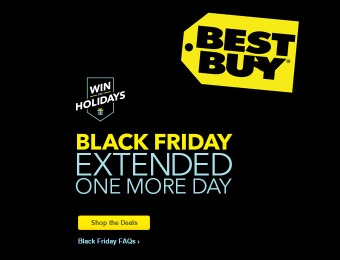 Best Buy Black Friday DoorBuster Deals - Extended One More Day