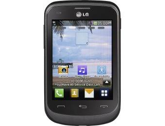 70% off Tracfone LG 306G No-Contract Phone TFLG306GTM3P4P