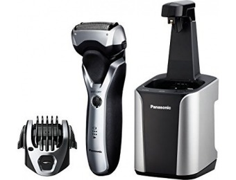$60 off Panasonic ES-RT97 Arc3 Shaver & Trimmer, Cleaning System