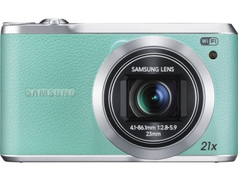 43% off Samsung WB380 16.3 Megapixel Digital Camera - Mint